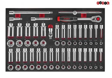 Foam 1/2 Socket Combination set 66pc