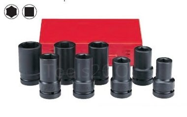 1 Impact deep socket set 8pc
