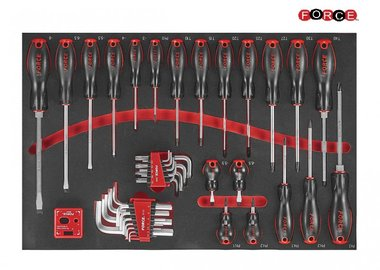 Foam screwdriver set 41pc