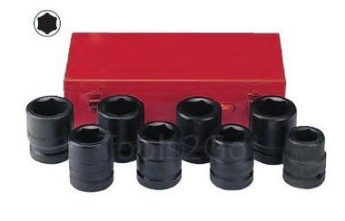 1 Impact socket set 8pc