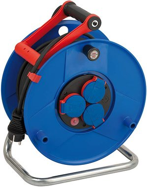 Guarantor IP44 cable reel 50m H05RR-F 3G1.5