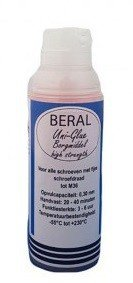 Beral Uni-Glue locking agent red high strength 15ml