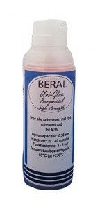 Beral Uni-Glue Locking agent red high strength 50ml