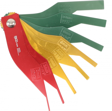 Brake Lining Wear Indicator Set metal 8 pcs.