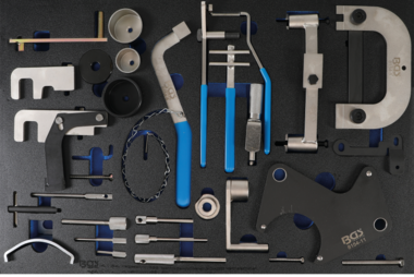 Tool Tray 3/3: Engine Timing Tool Set for Renault, Nissan, Opel, Volvo