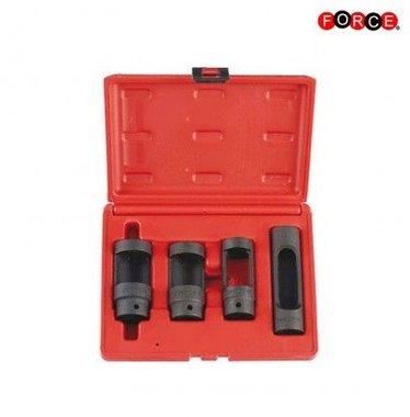 4pc Diesel injector socket set