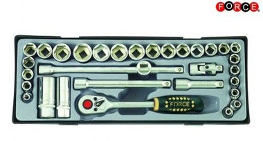 3/8 Socket set 32 pieces (Metric & SAE)