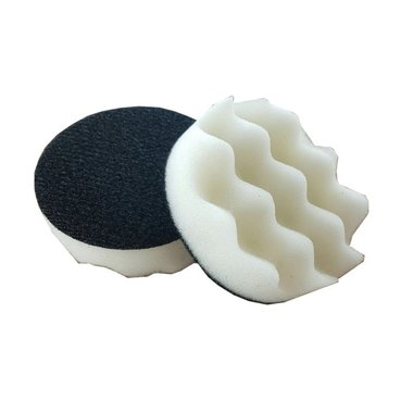 Cleaning pad white 75 mm