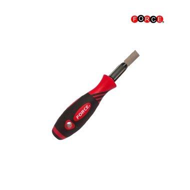 Scraper with dual-material grip