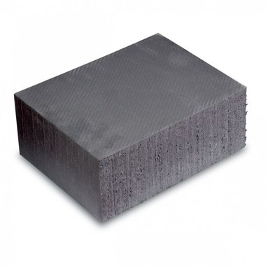 Universal rubber block