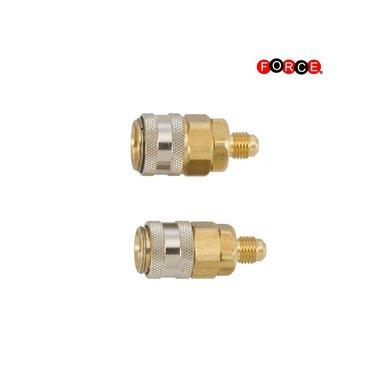 Quick coupler set R-134a