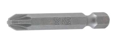 Bit length 50 mm 6.3 mm (1/4) drive Cross slot PZ3