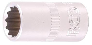 Socket, 12-point 6.3 mm (1/4) drive 11/32