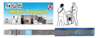 Furniture Carrying Strap adjustable 100 kg