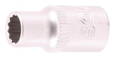 Socket, 12-point 6.3 mm (1/4) drive 1/4
