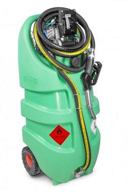 Tank 110 l atex pump 12v, hose + gun