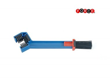 Motorcycle chain brush