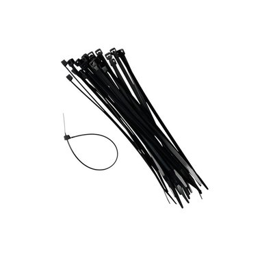 Cable ties 7.6x370mm x 100 pieces