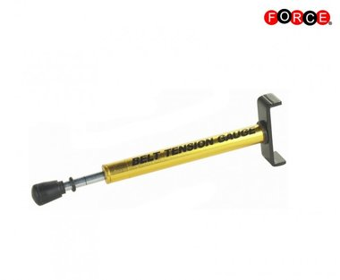 Motorcycles belt tension gauge