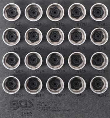 Rim Lock Socket Set for Volvo 20 pcs.