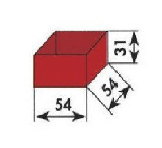 PVC storage boxes