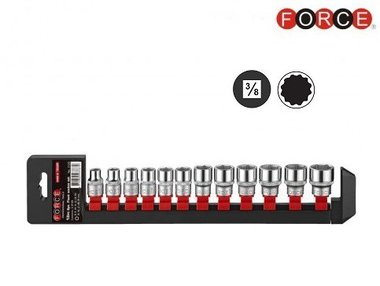 3/8 12-point Socket set 12pc