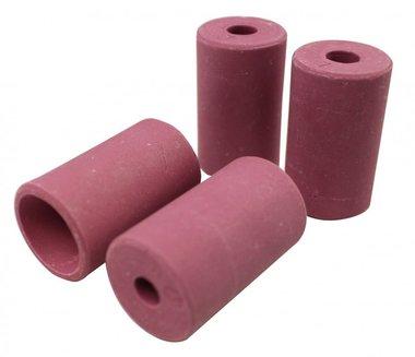 Set of 4 ceramic nozzles
