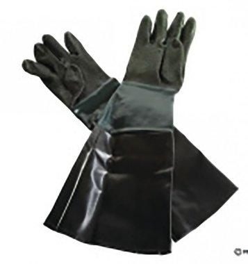 Paar handschoenen en slangklem voor CAT210