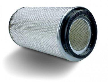 Dust filter for sandblast cabinet