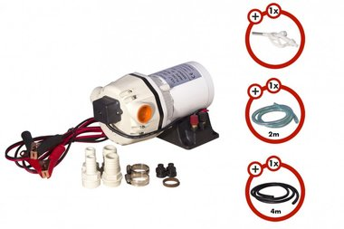 Membrane pump pack for adblue with accessories