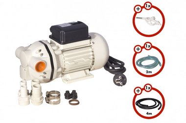 Adblue diaphragm pump pack with accessories