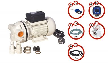 Complete pump set for adblue