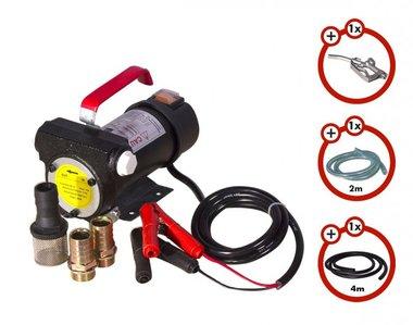 Diesel pump 24 v + gun + diesel hose + 2x coupling