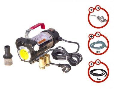 Diesel pump 230V + gun + diesel hose + 2x coupling
