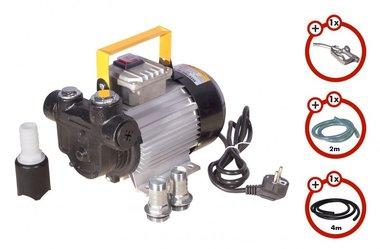Diesel pump 230V + gun + diesel hose + coupling