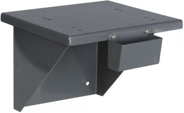 Wall holder for bench grinder