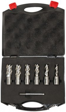 Set of core drills 6-piece 12 - 22mm