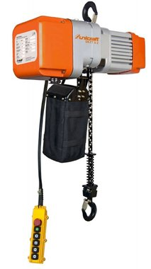 Electric chain hoist 0.5 ton, 641x276x410mm