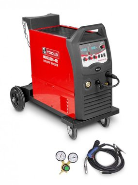 Industrial mobile mig mag flux welding machine