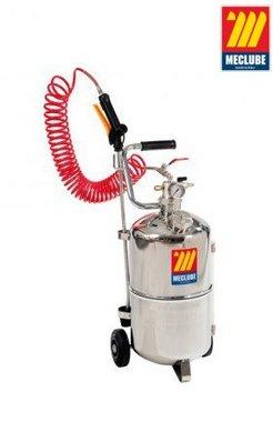 Wheeled stainless steel sprayer 24 liters