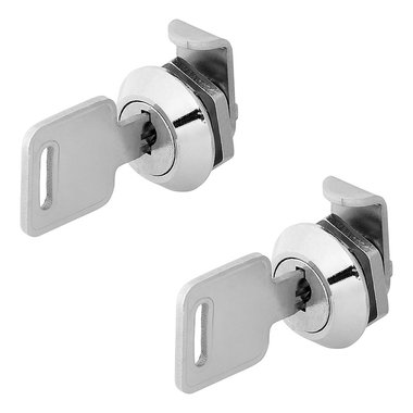 Cylinder locks for aluminium transport case set of 2 pieces