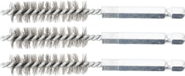 Steel Brush | 12 mm | 6.3 mm (1/4) Drive | 3 pcs.