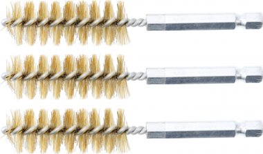Brass Brush | 17 mm | 6.3 mm (1/4
