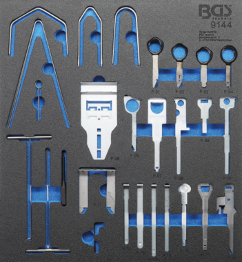 Radio Removal Tool Set | 52 pcs.