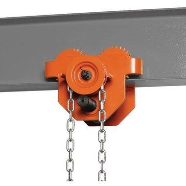 Geared trolley  HFW 5 5t 434,5x373x296,5mm
