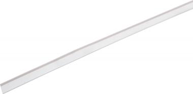 Plexi scanner rail transparent 1000 mm