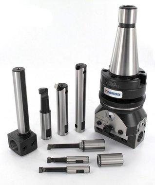 Automatic universal boring head DIN228 mk / m MK3/M12
