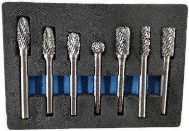 Milling set tungsten carbide7-piece
