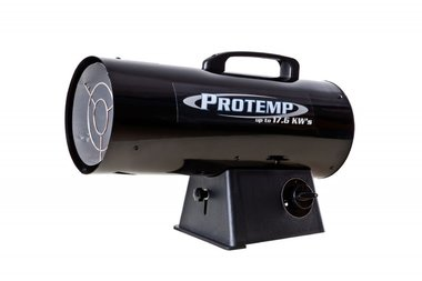 Propane gas heater 339 m³