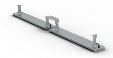Ceiling bracket 396x1,5x120mm for MO9818